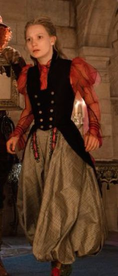 Alice Through the Looking Glass: Costume Review Ribbon Fantasy Look, I love the long vest & the shirt