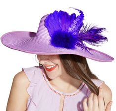Add This Clip On Blue Rose And Feather Fascinator Hat To Your Kentucky Derby Attire Classic Looking Is With An Attached