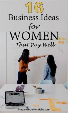 This list of business ideas for women not only pay well but can also provide you with the freedom to spend more time with your family and build an empire. Own Business Ideas, Best Home Business, Business Opportunities, Craft Business, Creating A Business, Starting Your Own Business, Start Up Business, Business Entrepreneur, Business Marketing