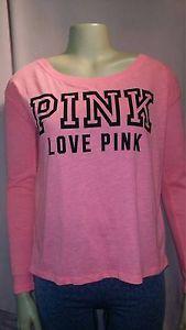 VS #PINK LS Tee XS #victoriassecret #pinknation #fashion #style #chic #ebay #fashionmagenet