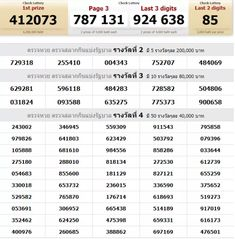 Thai Lottery King Vip Touch Tips first paper Thailand Lottery Master Magic Win Thai Lottery Sixline Urdu 121 007 and 001 with