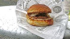 🍔 Pulled Beef Burger von Burger  Unplugged beim Gaumenfreude Streetfood Markt in Stuttgart. 😋😋😋