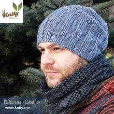 Мужская шапка - Мои вязаные шапки, шарфы и варежки