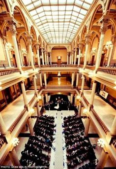 Indiana Statehouse Atriums Wedding Venues
