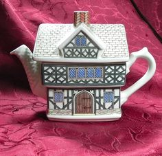1000 Images About Sadler Village Teapots On Pinterest James D Arcy Tudor House And China