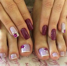 Amazing Toe Nails Designs To Choose In Summer - Nail Art Connect#toenails#summernails#toenailsdesigns