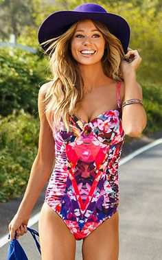 Hothouse Bloom One Piece by Swim Systems 2014 from #SwimwearBoutique