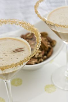 Pecan Pie Martini...ooh. Snappy Gourmet, why isn't this yours?