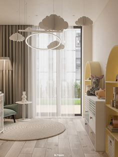 The qualitative design isn't determined with the help of color diversity or texture in one room. Functionality expressed by shape is considered to be a good design. Kids Bedroom Designs, Baby Room Design, Baby Room Decor, Design Hall, Casa Milano, Room Interior, Interior Design, Room Inspiration, Decoration