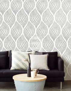 How To Hang Wallpaper, Home Wallpaper, Grenada, Wallpaper Calculator, Pip Studio, Designer Wallpaper, Wallpaper Designs, Home Interior, Master Bedroom