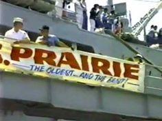 USS Prairie (AD-15) 1987 Homecoming