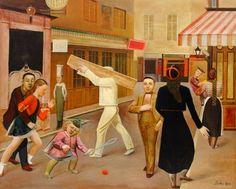 Balthus – The Street – 1933 – Museum of Modern Art, New York