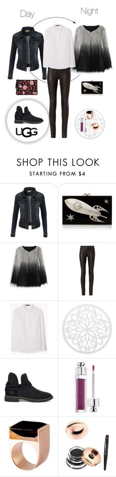 """The New Classics With UGG: Contest Entry"" by cherrypie13 ❤ liked on Polyvore featuring LE3NO, Charlotte Olympia, Chicwish, rag & bone, MANGO, UGG, Christian Dior, Kattri, Loeffler Randall and ugg"