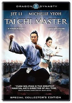Tai Chi Master (DVD Movie) Jet Li Michelle Yeoh Sealed Dragon Dynasty