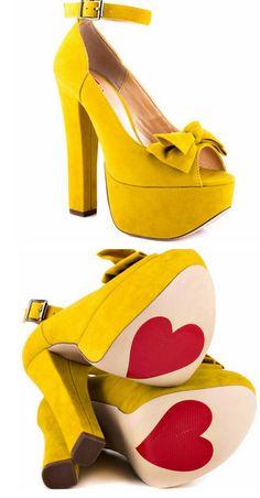 Van Essa Yellow Suede  Luichiny..cute