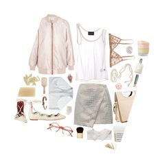 """""""we could be rose gold"""" by likeaprism ❤ liked on Polyvore featuring Acne Studios, Isabel Marant, DuWop, Commando, Pedro Lourenço, Madewell, Chanel, Tom Ford, Kenzo and A.P.C."""