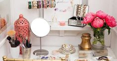 10 Next-Level Tricks to Organize Your Vanity Once and for All via @PureWow