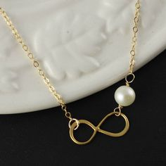 Best Friends Necklace, Infinity Necklace, Mother Of Bride