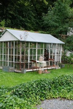 greenhouse with roof