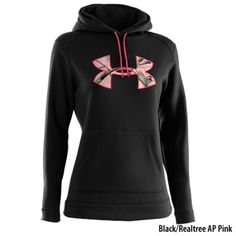 a2d66ee518fb8 Under Armour Women s Fleece Tackle Twill Logo Hoodie - Dick s Sporting  Goods on Wanelo