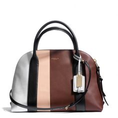 Oh Boy!  Oh Boy!! Oh Boy!!!  The Bleecker Preston Satchel In Colorblock Leather from Coach