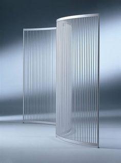Elegant curved partition