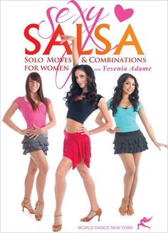 "Yesenia Adame's ""Sexy Salsa"" DVD video program"