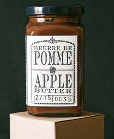 Apple Butter - 375mL by Bals Provisions on Gourmly