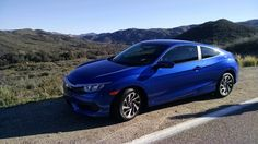 Driving Honda's redesigned 2016 Civic Coupe was an eye opener for this former Civic Hater. 2016 Honda Civic Coupe, Honda Civic Vtec, New Honda, Luxury, News, Classic, Blue, Cars, Luxury Cars