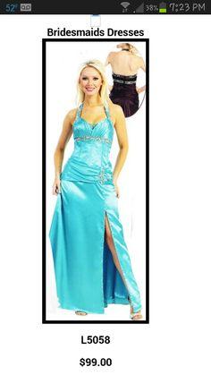 Turquoise bridesmaids dresses 2