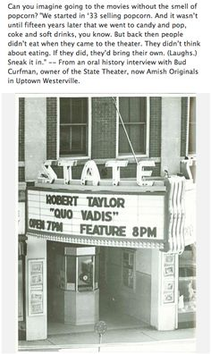 The State theater in  Uptown Westerville