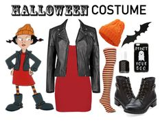 """Halloween"" by englinsfinefootwear ❤ liked on Polyvore featuring BKE core, Boohoo, Clarks, ASOS, Essie, halloweencostume and DIYHalloween"