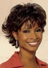 Cool Short Wavy Lace Front Human Hair Wig