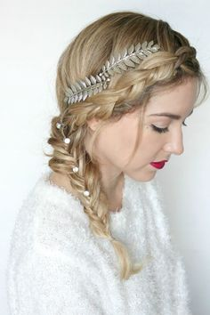 ultra beauty, snow kissed look, braid, style watch, simply sutter #ultra