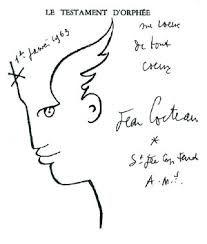 """Résultat de recherche d'images pour """"cocteau dessin visage aile"""""""
