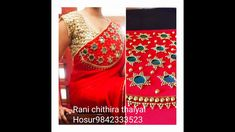 Hand embroidery Saree design /Saree design /Chain &Beads Work . Embroidery Saree, Crewel Embroidery, Chain, Beads, Design, O Beads, Bead, Pearls