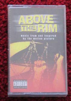 #AboveTheRim soundtrack audio tape cassette #hiphop #ebay #2pac