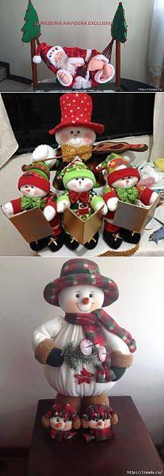 Christmas Snowman, Christmas Crafts, Christmas Ornaments, Snowman Crafts, Snowmen, Dolls, Holiday Decor, Polymer Clay, Diy