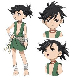 A young thief she companies Hyakkimaru in order to steal his sword. Character Concept, Character Art, Concept Art, Character Design, Manga Anime, Anime Art, Manhwa, Animes Online, Princesas Disney