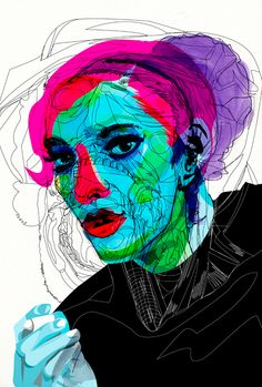 Alvaro Tapia Hidalgo was born in Viña del Mar, Chile and is a graphic designer, filmmaker & illustrator what currently is living and working in Granada, Spain. He arrived to the illustration world ve Abstract Faces, Abstract Portrait, Portrait Art, Blind Contour Drawing, A Level Art, Vector Portrait, Ap Art, Figurative Art, Illustrations Posters