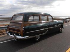 1953 Pontiac tin woody
