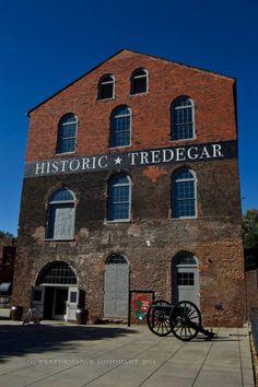 Civil War Icon....Tredegar Iron Works, circa 1837, in Richmond VA, photo by Tom Whitmore