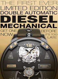 Orologi Diesel DZ7365 Automatico Grand Daddy Uomo Edizione Limitata