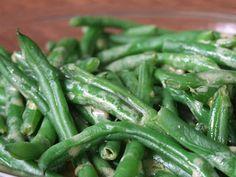 Lauren's Kitchen: Green Beans with Mustard Vinaigrette
