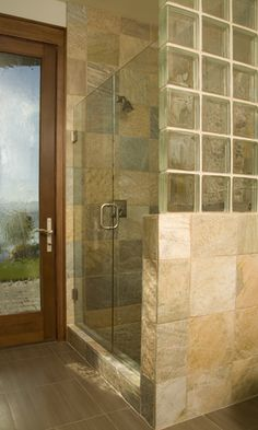 Glass, glass block, tile mix