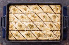 Best Baklava Recipe, Fudge, Graham, Best Honey, Mediterranean Dishes, Brownie Bar, Food To Make, Easy Meals, Favorite Recipes