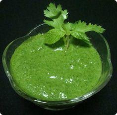 Green Chutney, Recipe, Indian Food recipe, Vegetarian recipe