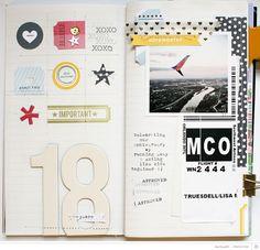 18 years // t2magic notebook by gluestickgirl at @studio_calico