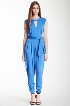 Yellow Label Carrie Silk Blend Jumpsuit on HauteLook
