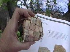 birchbark cube